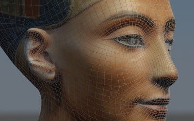 3D Reconstruction of the Bust of Queen Nefertiti