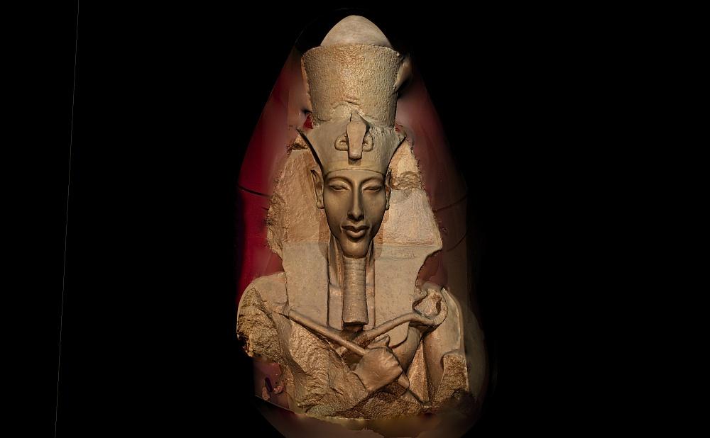 3D modelling of Akhenaten