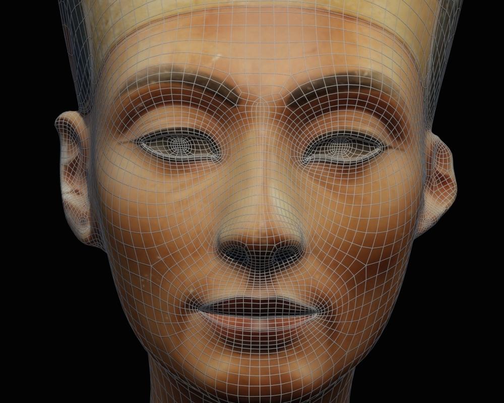 3D Modelling the Bust of Nefertiti