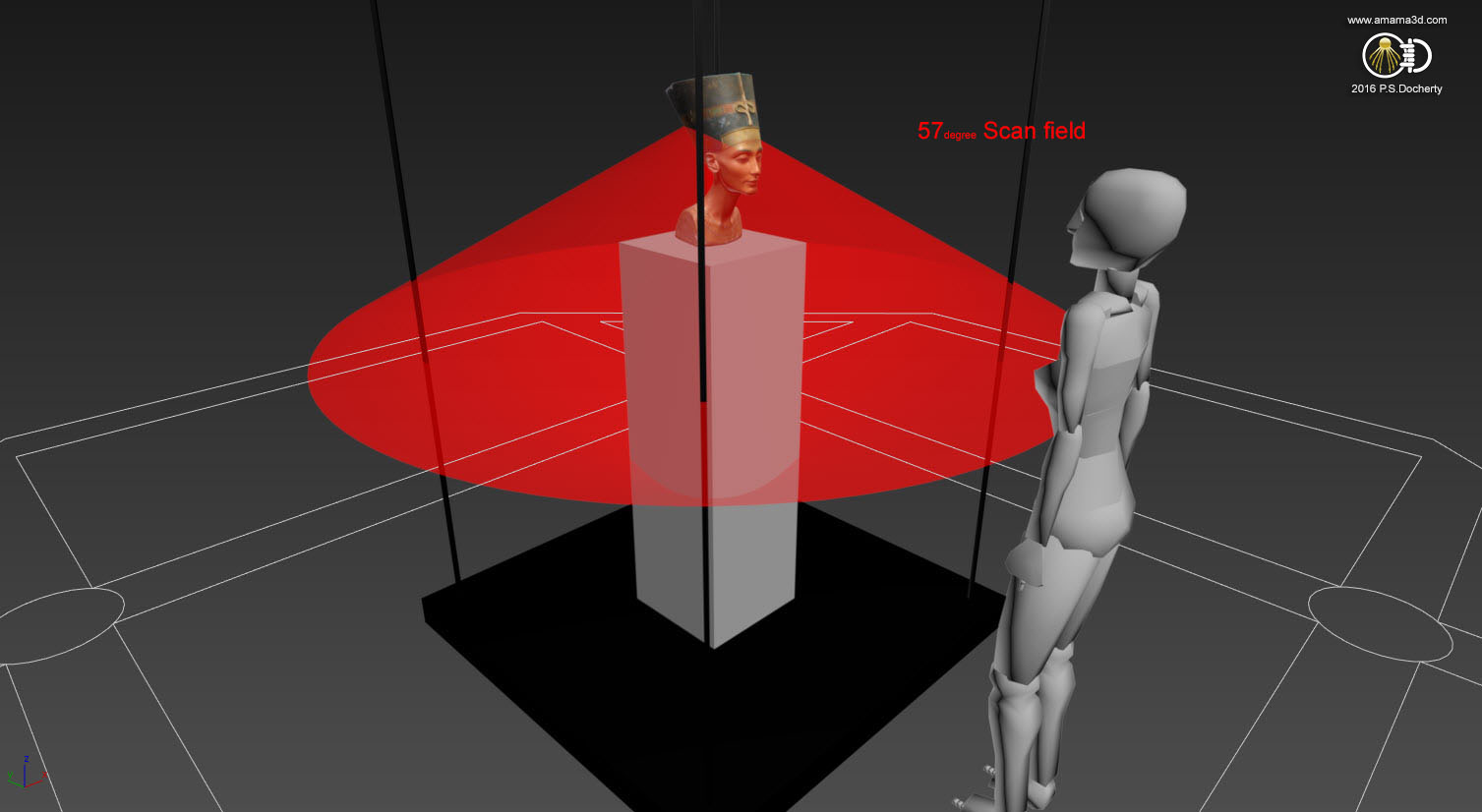 Nefertiti Hack - Questions regarding the 3D scan of the bust of