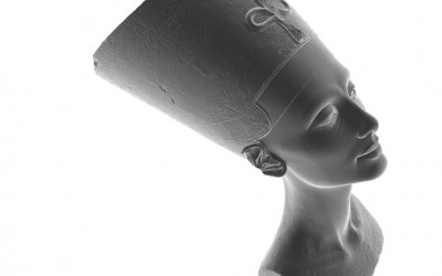 Nefertiti Hack – Questions regarding the 3D scan of the bust of Nefertiti