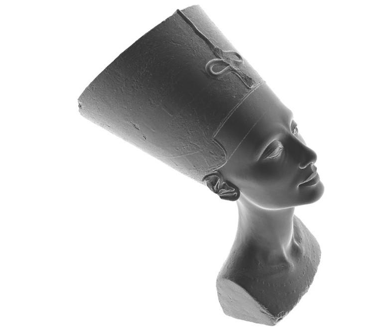 Nefertiti Hack – Questions regarding the 3D scan of the bust of Nefertiti