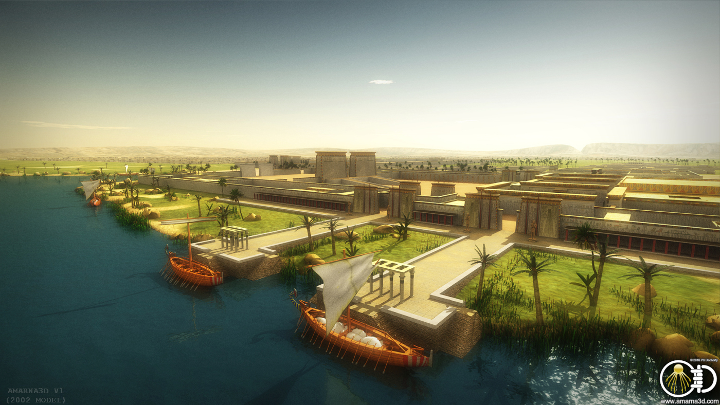 Amarna3D Projects