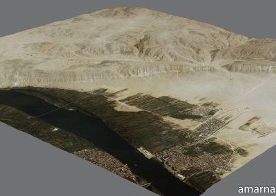 Amarna 3D Landscape Tests